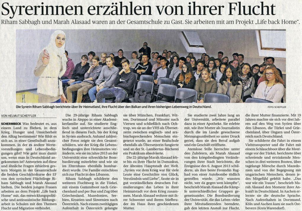 Rheinische Post, 16.11.17