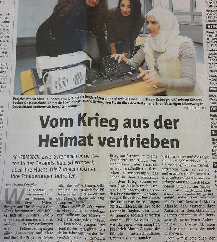 Ruhr Nachrichten, 16.11.17