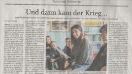 20191110_Artikel Schweriner Volkszeitung
